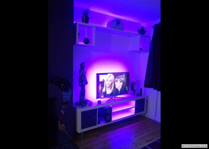 Ambient Front Room Lighting
