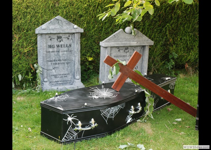 Coffin Tombstone Hire