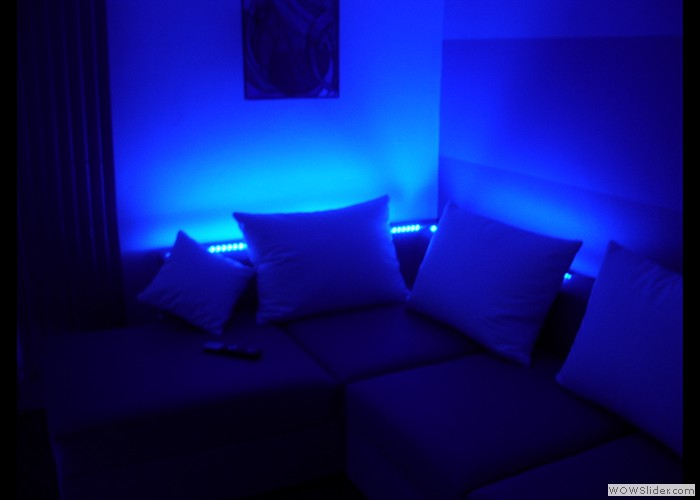 Front Room Ambient Lighting