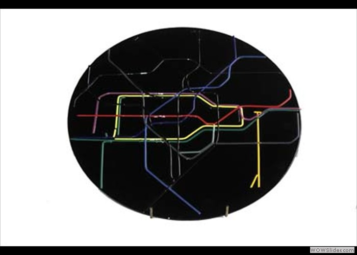 Glass Tube Map
