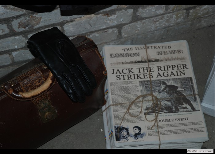 Jack Ripper Newspaper Prop