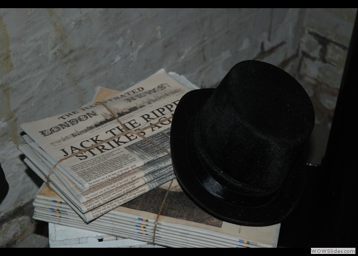 Jack Ripper Newspaper Props